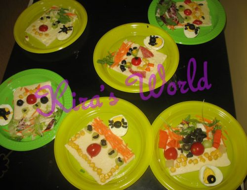 Kid's Kitchen: i tramezzini di Halloween