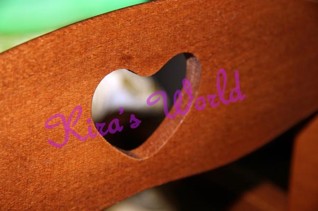 cuore sulla sedia