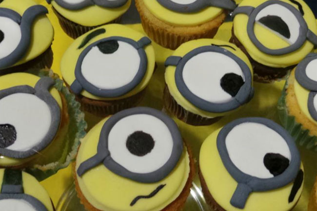 Cupcakes dei Minions