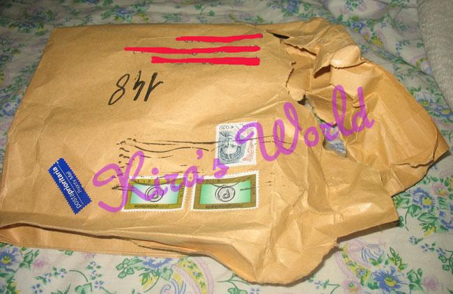 pacco postale rotto