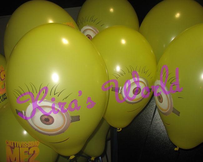 Palloncini al Minions Day