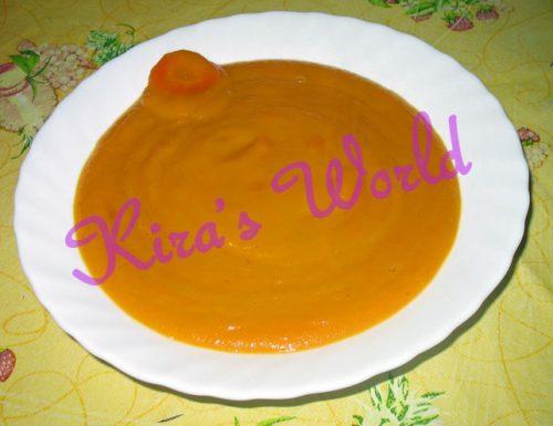 Vellutata di carote: la ricetta