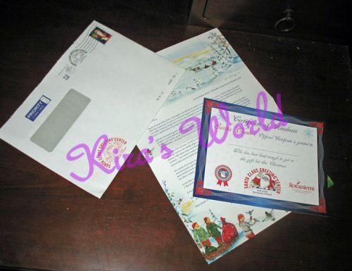 La lettera da Babbo Natale è arrivata