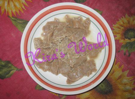 Kid's Kitchen: tagliatelle con la farina di castagne