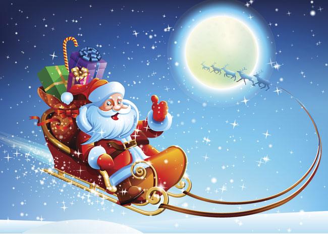 Slitta Babbo Natale Immagini.Babbo Natale Non Sbaglia Mai Idee E Passioni Di Kira