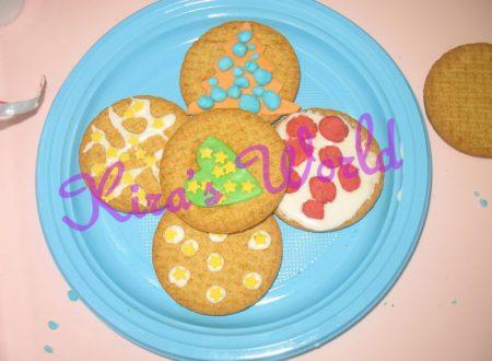 Kid's Kitchen: biscotti decorati di Natale