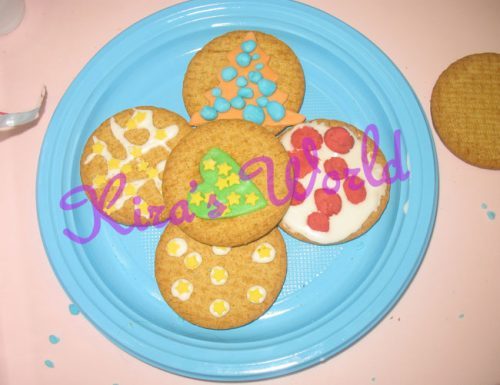 Kid's Kitchen: biscotti decorati di Natale