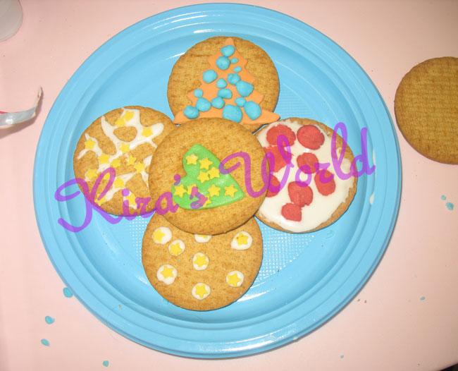 biscotti decorati pronti