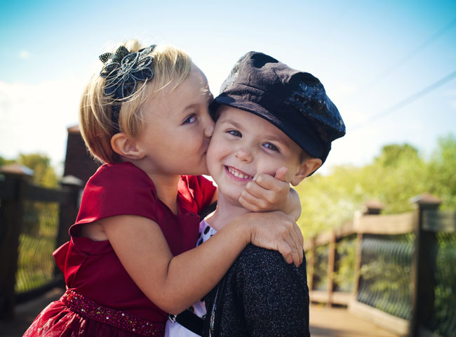 amore da bambini