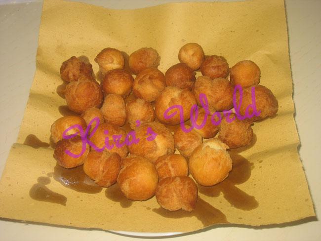 castagnole fritte