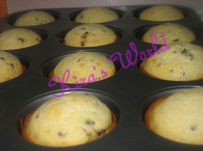 muffin in teglia