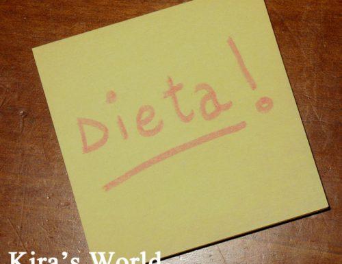 Dieta: e si comincia