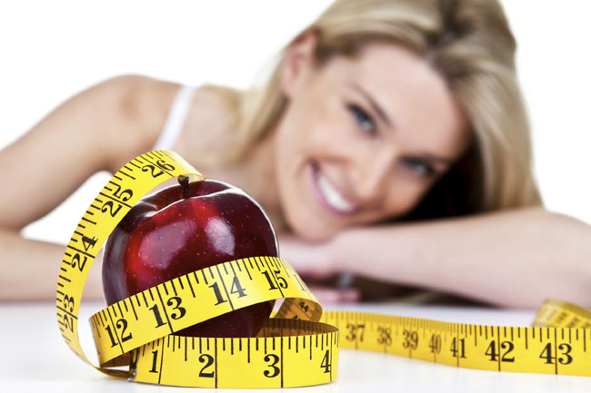 donna a dieta