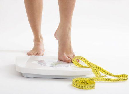 5° settimana di dieta: – 1,3 kg