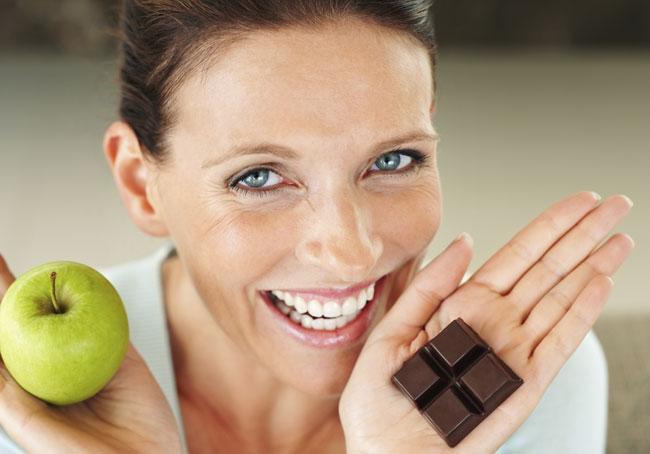 cioccolato e dieta