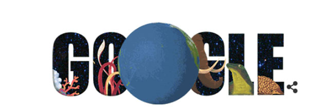doodle earth day