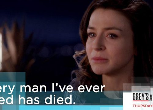 Grey's Anatomy: the pain of lost