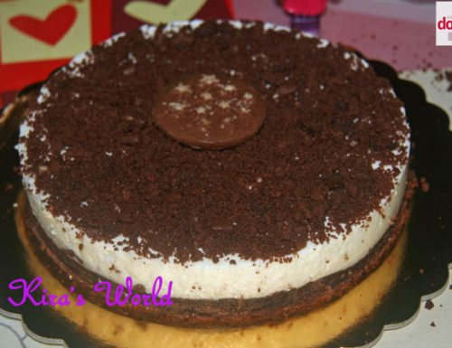 Cheesecake con i pan di stelle