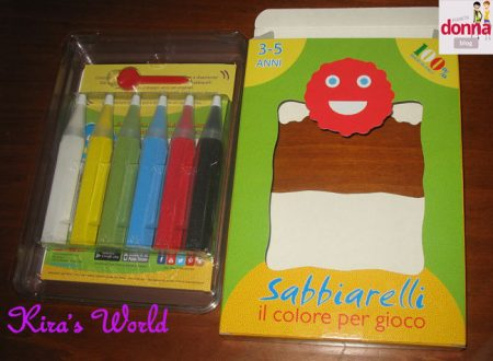 Sabbiarelli, come colorare con la sabbia