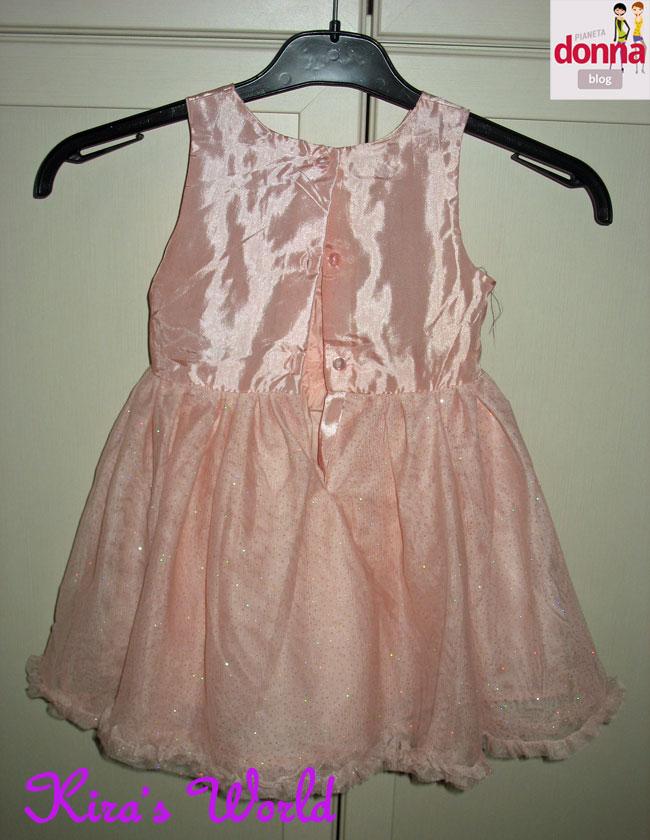 vestito rosa dietro