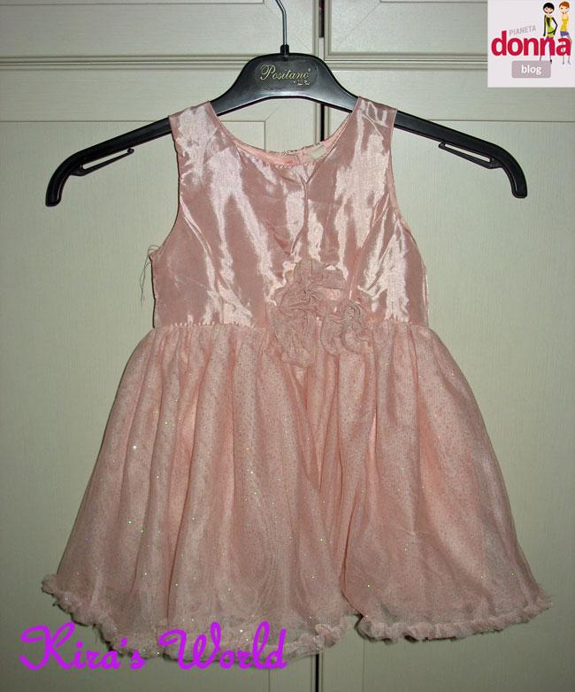 vestito rosa da damigella