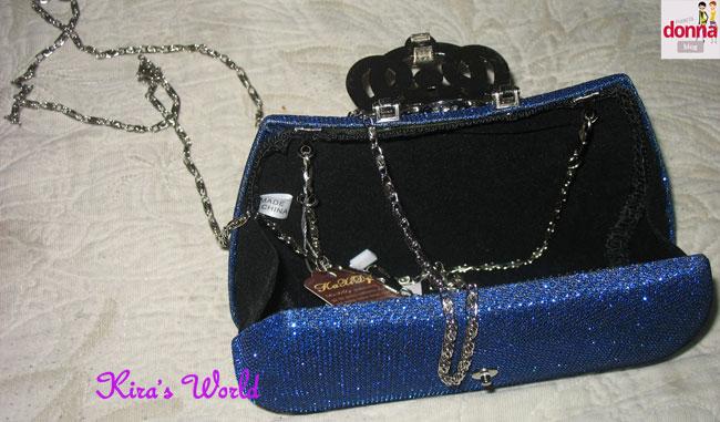 borsetta con catenella lunga