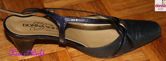 scarpa blu