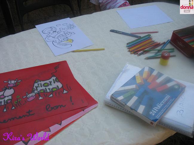 il tavolo dei colori