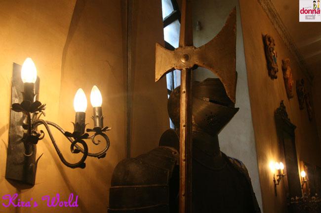 armatura del castello