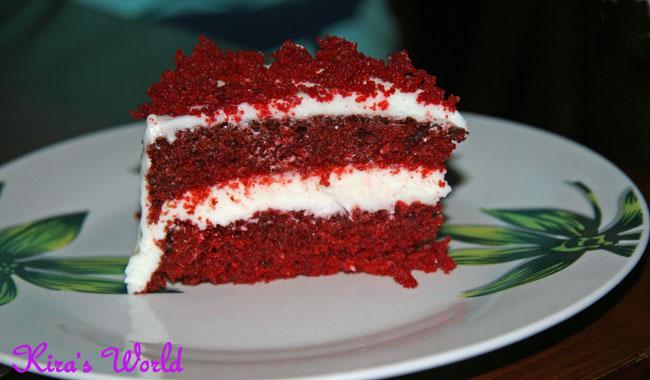 Fetta di Red Velvet