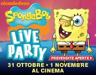 Spongebob Live Party: tutti al cinema con la spugna gialla