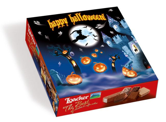 loacker happy halloween