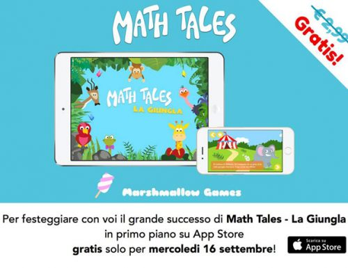 Math Tales, app educativa per i bambini
