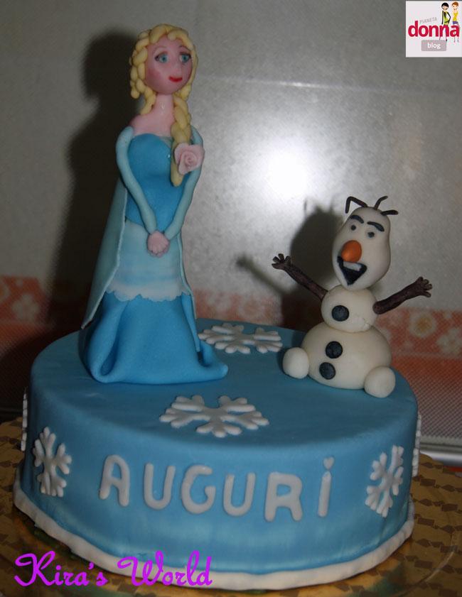 torta finta frozen