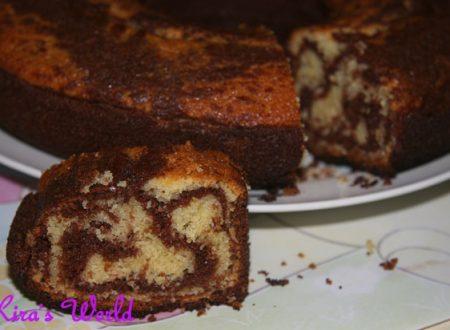 Marmor Dolce, la ricetta della torta zebrata