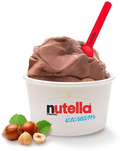 nutella icecream