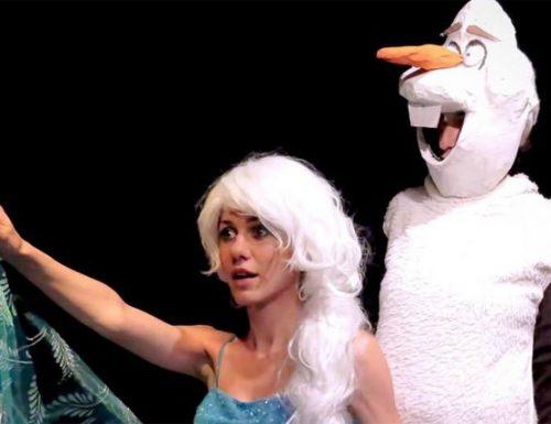 La Regina delle Nevi, spettacolo per bambini
