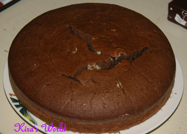 torta nel piatto