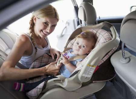 La sicurezza dei bambini in auto