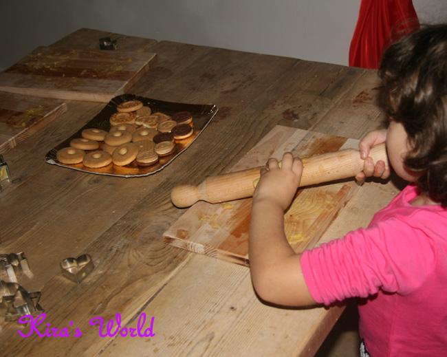 biscotti in cucina