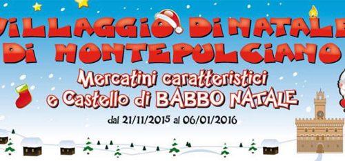 Il Villaggio di Natale riapre a Montepulciano