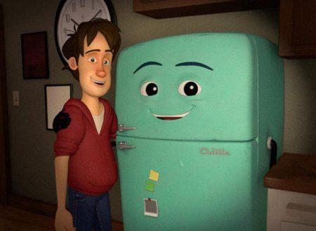 Runaway, l'emozionante corto animato su un frigo
