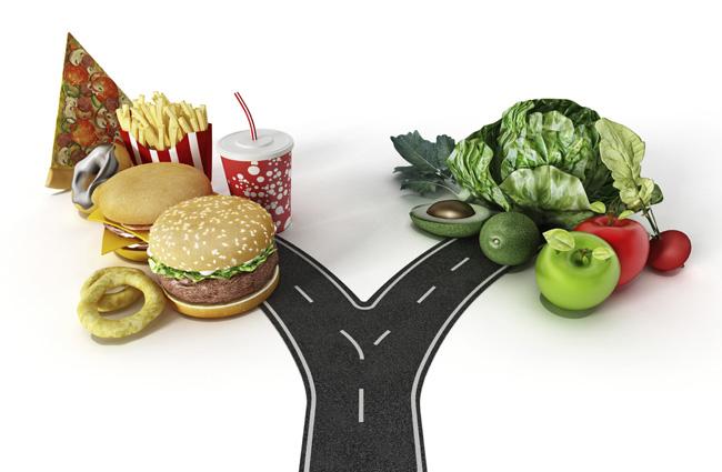 dieta o hamburger