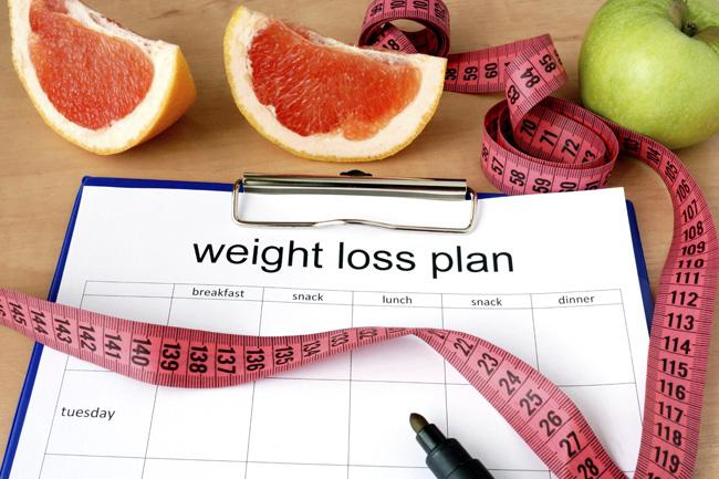 piano della dieta