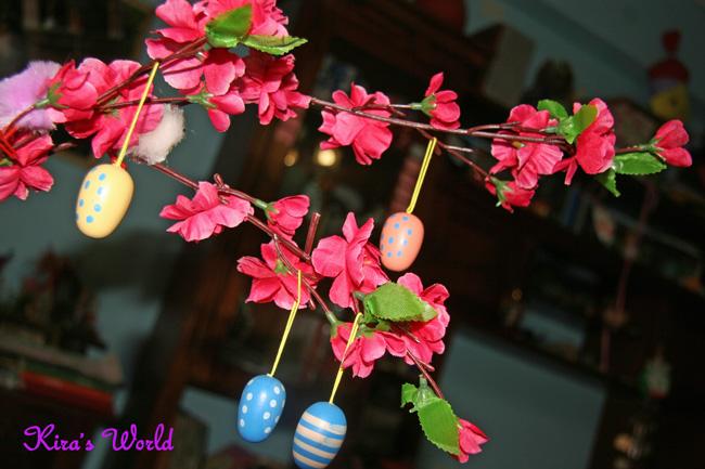ramo con fiori rosa