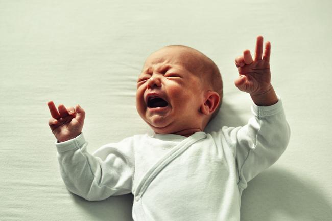 Non lasciar piangere il neonato