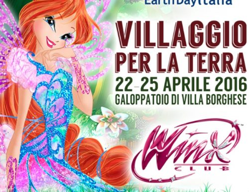 Le Winx portano la loro magia all'Earth Day di Roma