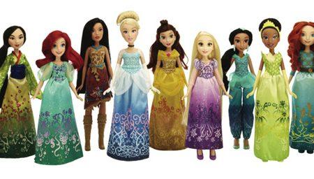 Le principesse Disney si rifanno il look con Hasbro