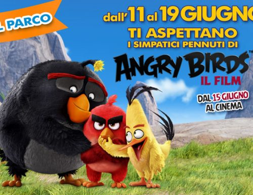 2 weekend a Rainbow Magicland con i simpatici pennuti di Angry Birds