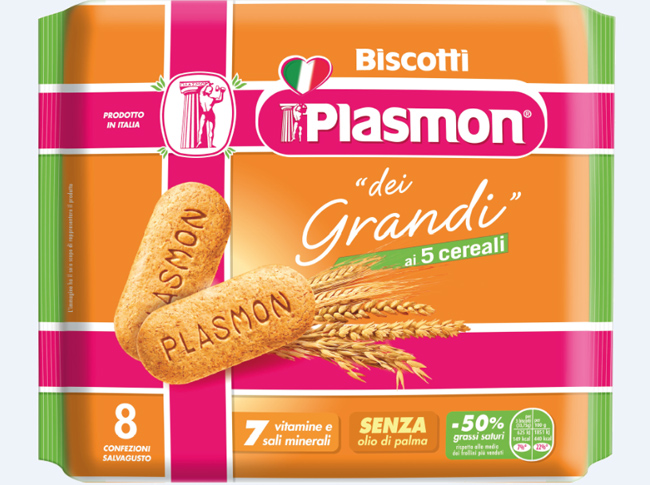 biscotto cereali plasmon